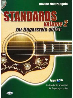 STANDARDS FOR FINGERSTYLE GUITAR VOLUME 2